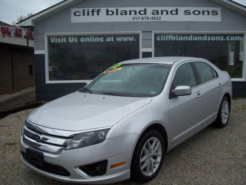 2012 Ford Fusion for sale at Cliff Bland & Sons Used Cars in El Dorado Spg MO
