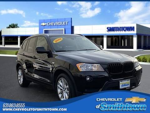 2014 BMW X3 for sale at CHEVROLET OF SMITHTOWN in Saint James NY