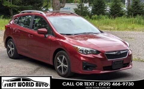 2019 Subaru Impreza for sale at First World Auto in Jamaica NY