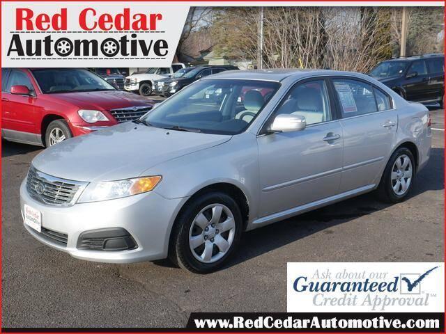 2010 Kia Optima for sale at Red Cedar Automotive in Menomonie WI