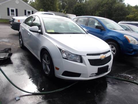 2013 Chevrolet Cruze for sale at MATTESON MOTORS in Raynham MA