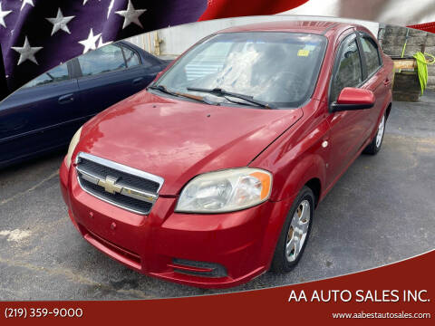 2007 Chevrolet Aveo for sale at AA Auto Sales Inc. in Gary IN