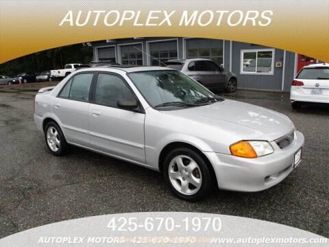 2000 Mazda Protege for sale at Autoplex Motors in Lynnwood WA
