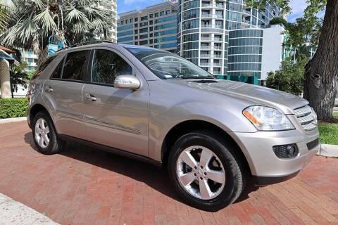 2007 Mercedes-Benz M-Class for sale at Choice Auto in Fort Lauderdale FL