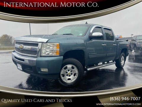 2010 Chevrolet Silverado 1500 for sale at International Motor Co. in St. Charles MO