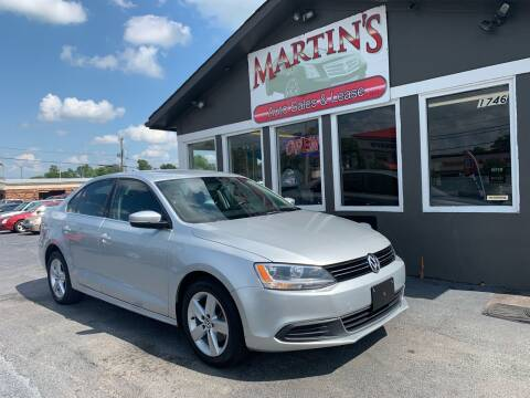 2013 Volkswagen Jetta for sale at Martins Auto Sales in Shelbyville KY