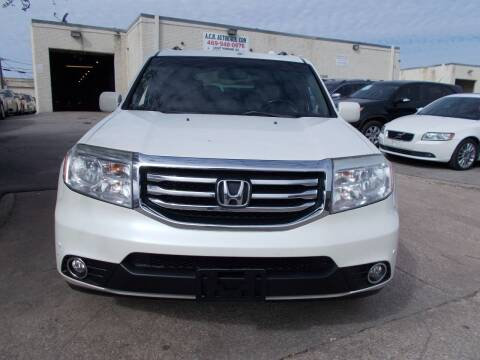2012 Honda Pilot for sale at ACH AutoHaus in Dallas TX