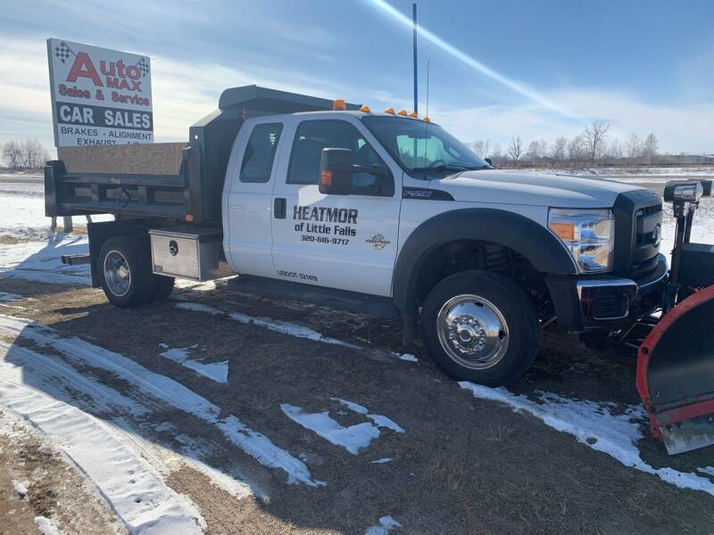 2012 Ford F-550 Super Duty for sale at Auto Max Sales & Service in Little Falls MN