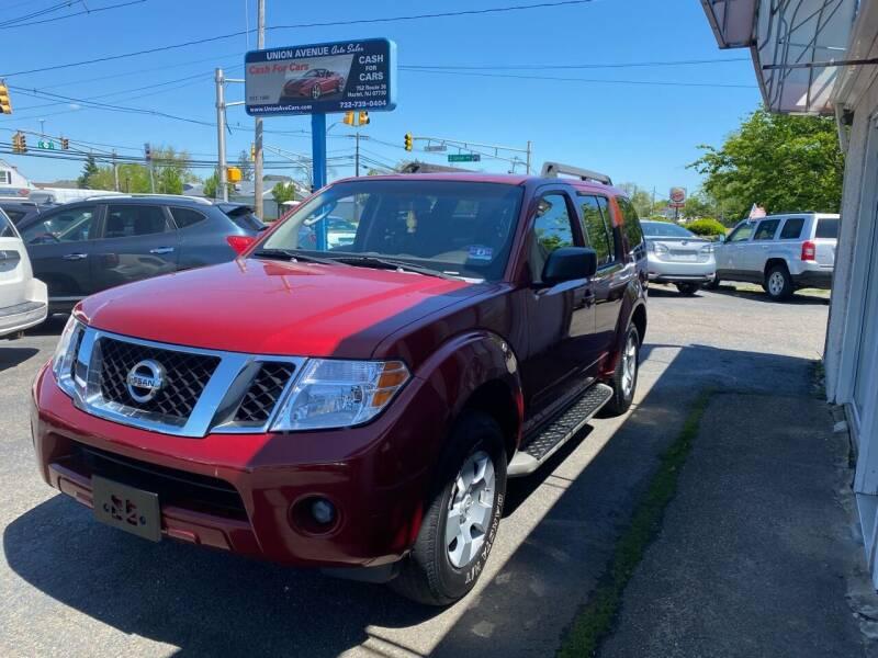 2008 Nissan Pathfinder for sale at Union Avenue Auto Sales in Hazlet NJ