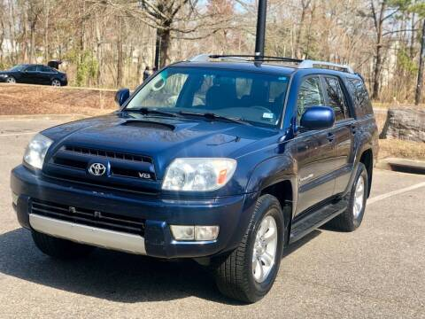 2004 Toyota 4Runner for sale at Supreme Auto Sales in Chesapeake VA