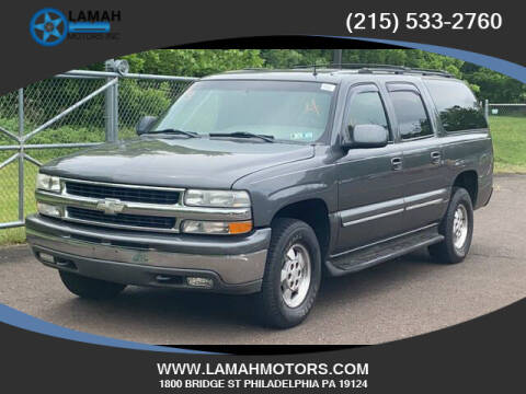 2002 Chevrolet Suburban for sale at LAMAH MOTORS INC in Philadelphia PA