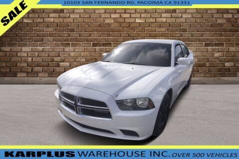 2013 Dodge Charger for sale at Karplus Warehouse in Pacoima CA
