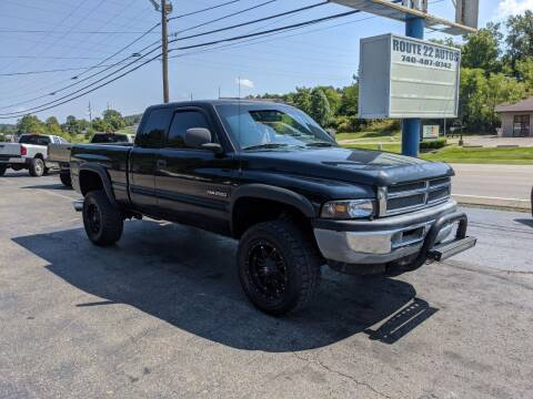 2000 Dodge Ram Pickup 2500 for sale at Route 22 Autos in Zanesville OH