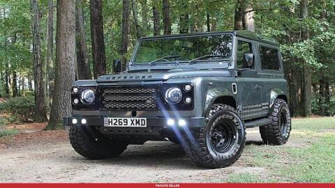 1990 Land Rover Defender for sale at US 24 Auto Group in Redford MI