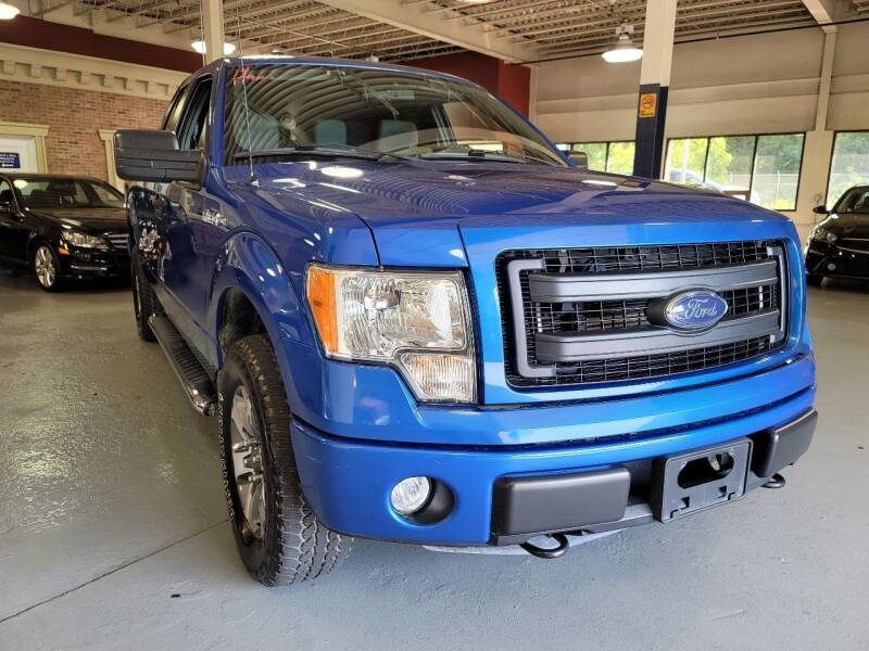 2014 Ford F-150 for sale at AW Auto & Truck Wholesalers  Inc. in Hasbrouck Heights NJ