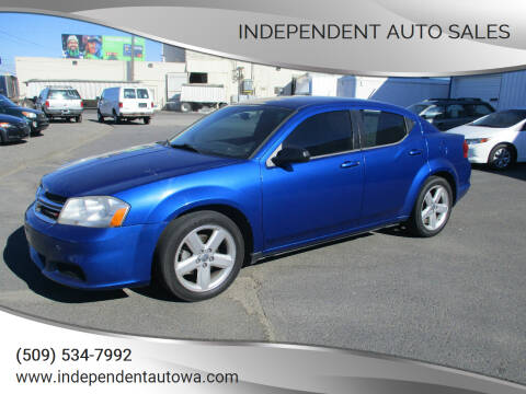 2013 Dodge Avenger for sale at Independent Auto Sales #2 in Spokane WA