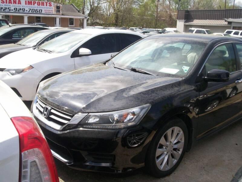 2014 Honda Accord for sale at Louisiana Imports in Baton Rouge LA