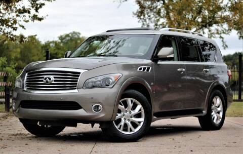 2014 Infiniti QX80 for sale at Texas Auto Corporation in Houston TX