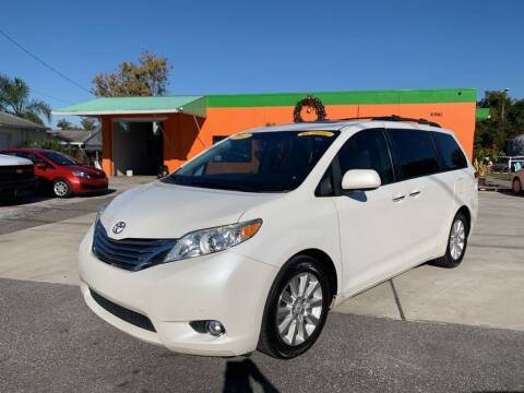 2012 Toyota Sienna for sale at Galaxy Auto Service, Inc. in Orlando FL