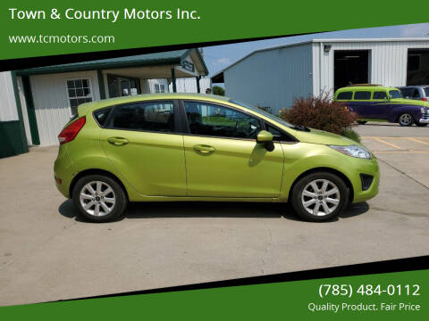2011 Ford Fiesta for sale at Town & Country Motors Inc. in Meriden KS