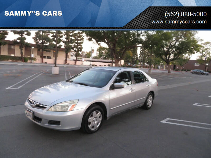 "2006 Honda Accord for sale at SAMMY""S CARS in Bellflower CA"