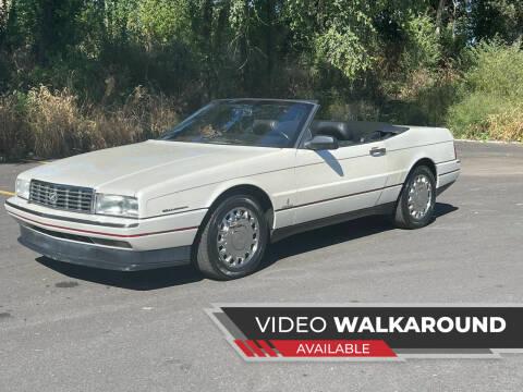 1993 Cadillac Allante for sale at MGM CLASSIC CARS-New Arrivals in Addison IL