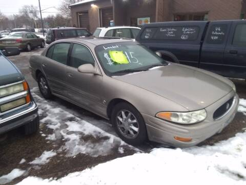 2003 Buick LeSabre for sale at Continental Auto Sales in White Bear Lake MN