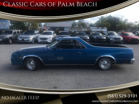 1986 Chevrolet El Camino for sale at Classic Cars of Palm Beach in Jupiter FL