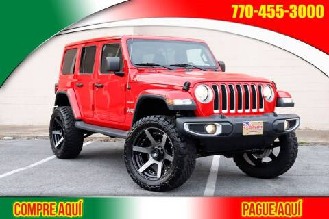 2018 Jeep Wrangler Unlimited for sale at El Compadre Trucks in Doraville GA
