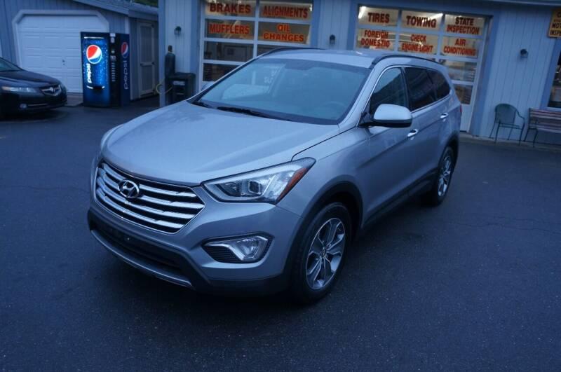2016 Hyundai Santa Fe for sale at Autos By Joseph Inc in Highland NY