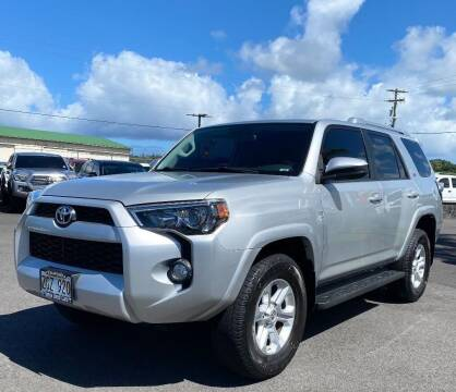 2018 Toyota 4Runner for sale at PONO'S USED CARS in Hilo HI
