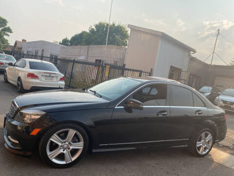 2011 Mercedes-Benz C-Class for sale at Sanaa Auto Sales LLC in Denver CO