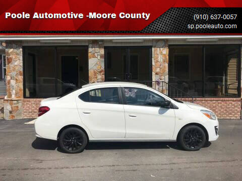 2020 Mitsubishi Mirage G4 for sale at Poole Automotive in Laurinburg NC