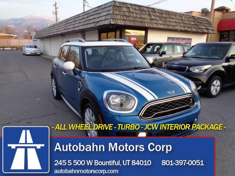 2019 MINI Countryman for sale at Autobahn Motors Corp in Bountiful UT