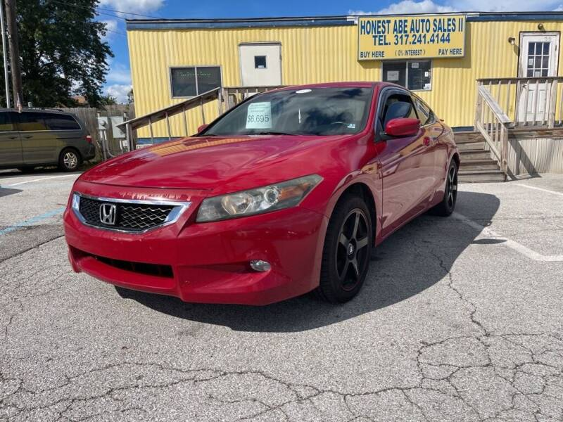 2009 Honda Accord for sale at Honest Abe Auto Sales 2 in Indianapolis IN