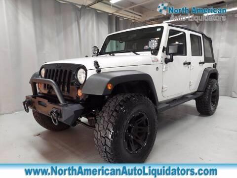 2012 Jeep Wrangler Unlimited for sale at North American Auto Liquidators in Essington PA