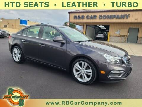 2016 Chevrolet Cruze Limited for sale at R & B Car Company in South Bend IN