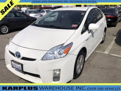 2010 Toyota Prius for sale at Karplus Warehouse in Pacoima CA