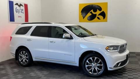2017 Dodge Durango for sale at Carousel Auto Group in Iowa City IA