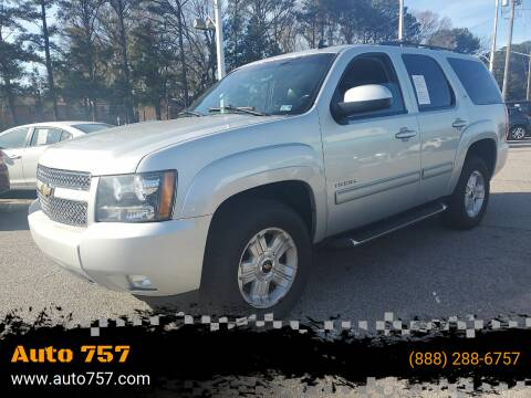 2011 Chevrolet Tahoe for sale at Auto 757 in Norfolk VA