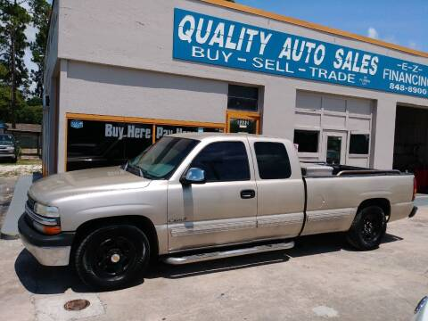 2000 Chevrolet Silverado 1500 for sale at QUALITY AUTO SALES OF FLORIDA in New Port Richey FL