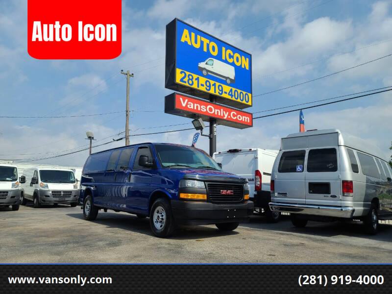 2020 GMC Savana Cargo for sale at Auto Icon in Houston TX