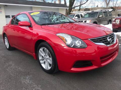 2012 Nissan Altima for sale at Alexander Antkowiak Auto Sales in Hatboro PA
