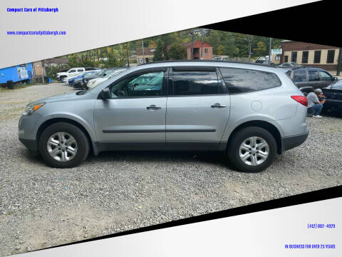 2011 Chevrolet Traverse for sale at Compact Cars of Pittsburgh in Pittsburgh PA