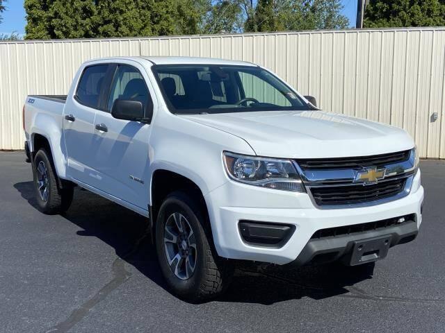 2015 Chevrolet Colorado for sale at Miller Auto Sales in Saint Louis MI