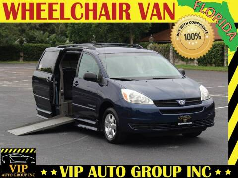 2005 Toyota Sienna for sale at VIP Auto Group in Clearwater FL