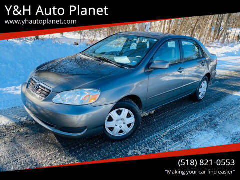 2007 Toyota Corolla for sale at Y&H Auto Planet in West Sand Lake NY