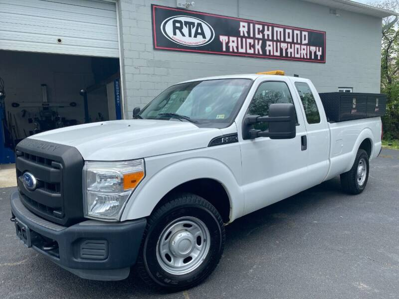 2011 Ford F-250 Super Duty for sale at Richmond Truck Authority in Richmond VA