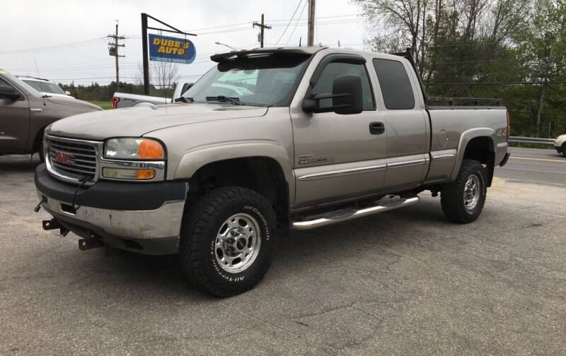2002 GMC Sierra 2500HD for sale at Dubes Auto Sales in Lewiston ME