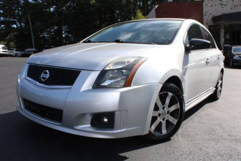 2012 Nissan Sentra for sale at Atlanta Unique Auto Sales in Norcross GA